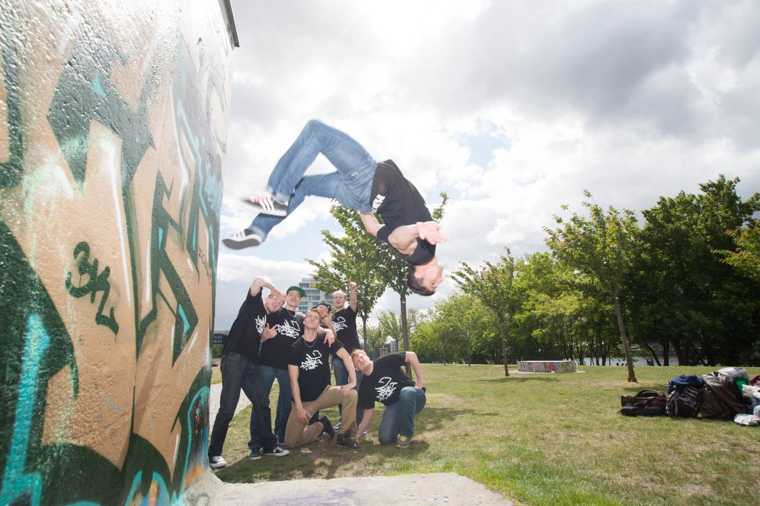 Street-Beatz Breakdance Crew Berlin Salto